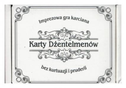 Karty dżentelmenów -  | okładka