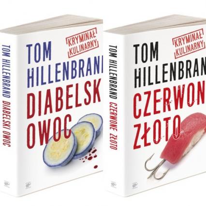 Kryminały kulinarne Toma Hillenbranda Diabelski owoc /Czerwone złoto Pakiet - Tom Hillenbrand | okładka