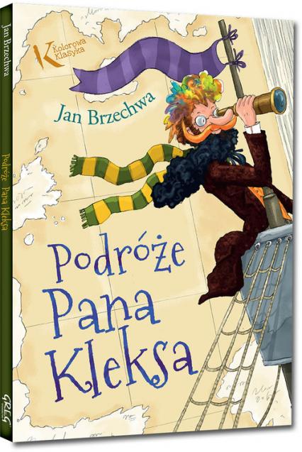 Podróże Pana Kleksa - Jan Brzechwa | okładka