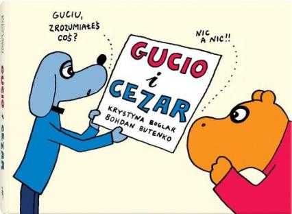 Gucio i Cezar - Krystyna Boglar   okładka