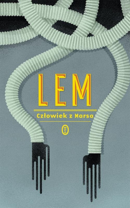 Człowiek z Marsa - Stanisław Lem   okładka