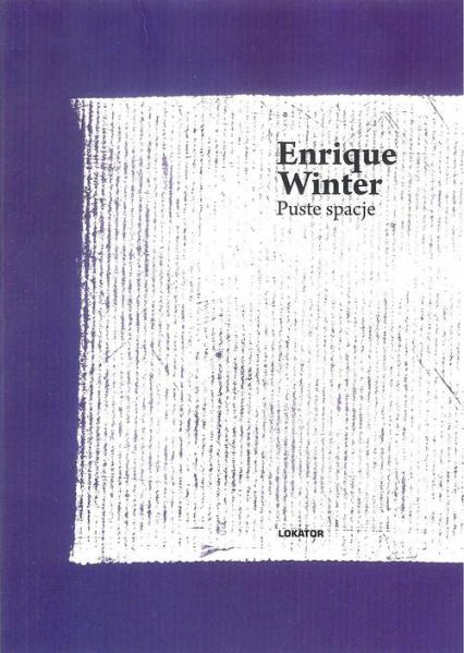 Puste spacje - Enrique Winter   okładka