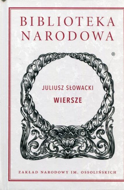 Wiersze - Juliusz Słowacki | okładka