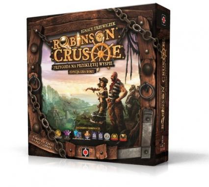 Robinson Crusoe Przygoda na przeklętej wyspie - Trzewiczek Ignacy | okładka