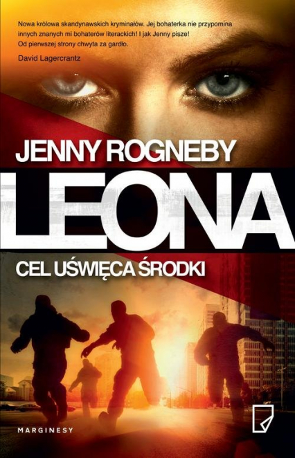 Leona Cel uświęca środki - Jenny Rogneby | okładka
