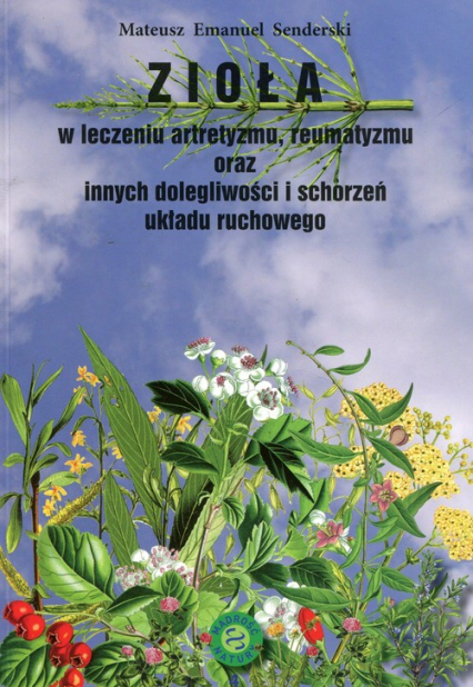 Zioła w leczeniu artretyzmu reumatyzmu oraz innych dolegliwości i schorzeń układu ruchowego - Senderski Mateusz Emanuel | okładka