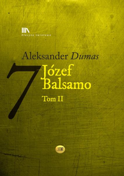 Józef Balsamo Tom 2 - Aleksander Dumas | okładka