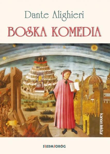 Boska Komedia - Dante Alighieri | okładka