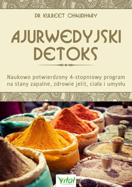 Ajurwedyjski detoks - Kulreet Chaudhary | okładka