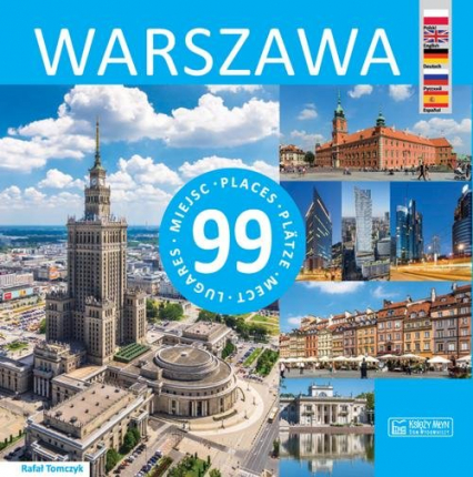 Warszawa 99 miejsc - Rafał Tomczyk | okładka