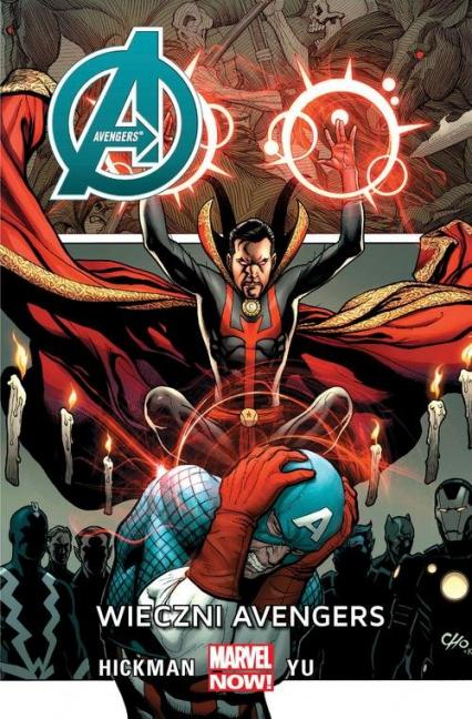 Avengers Wieczni Avengers - Hickman Jonathan, Yu Leynil Francis   okładka