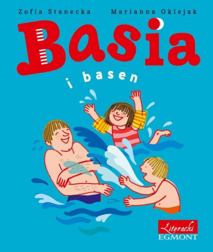 Basia i basen - Zofia Stanecka | okładka