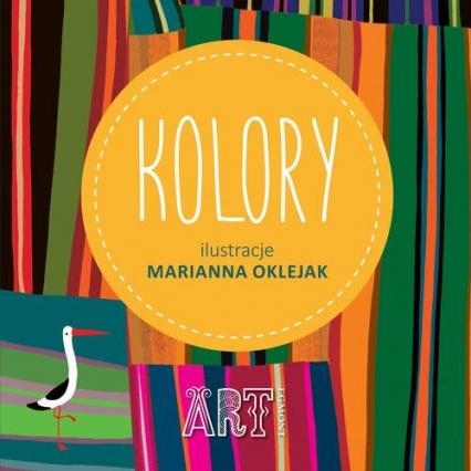 Kolory - Marianna Oklejak | okładka