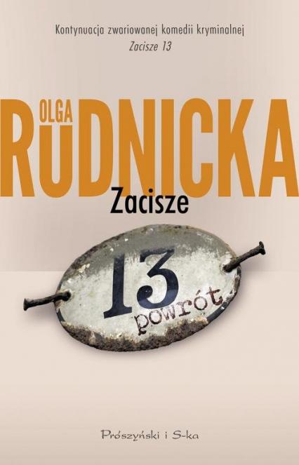 Zacisze 13 Powrót - Olga Rudnicka | okładka