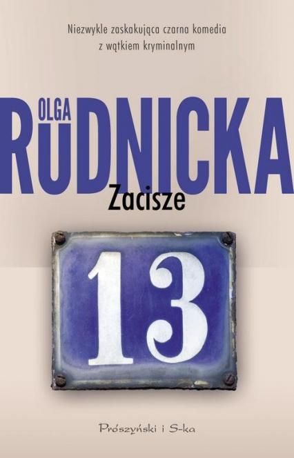 Zacisze 13 - Olga Rudnicka | okładka
