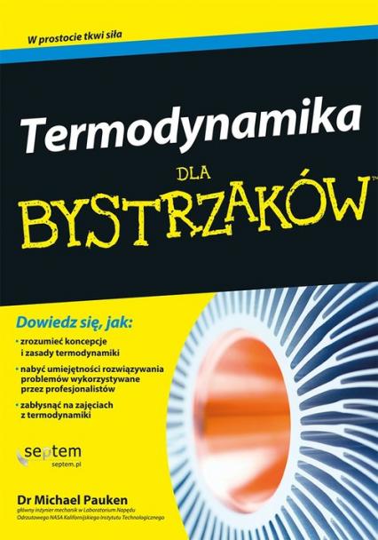 Termodynamika dla bystrzaków - Michael Pauken | okładka