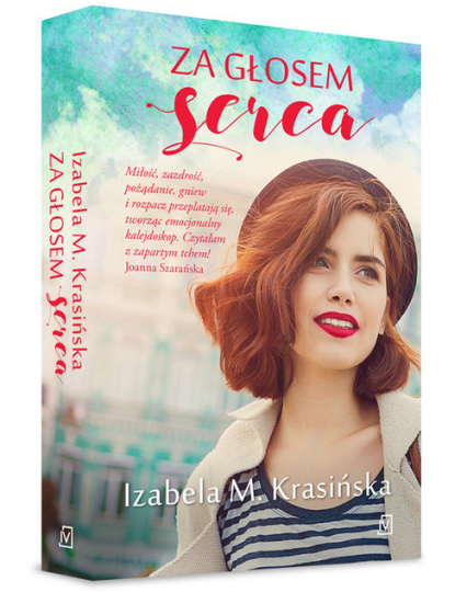 Za głosem serca - Krasińska Izabela M. | okładka