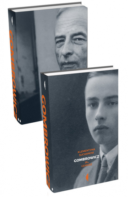 Gombrowicz Ja, geniusz - Klementyna Suchanow   okładka