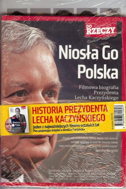 Odwaga i wizja / Niosła Go Polska - zbiorowa Praca | okładka