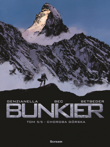 Bunkier Tom 5 Choroba górska - Bec Christophe, Betbeder Stephane   okładka