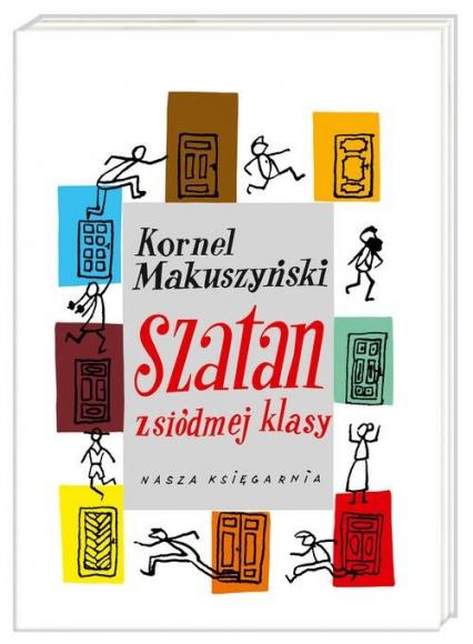 Szatan z siódmej klasy - Kornel Makuszyński | okładka