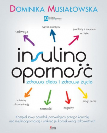 Insulinooporność Zdrowa dieta i zdrowe życie - Dominika Musiałowska | okładka