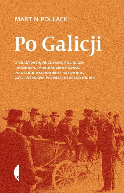Po Galicji O chasydach, Hucułach, Polakach i Rusinach. Imaginacyjna podróż po Galicji Wschodniej i Bukowinie, c - Martin Pollack | okładka
