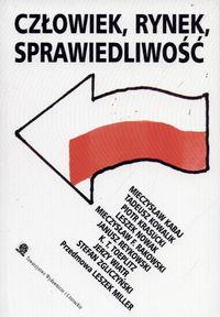 Człowiek Rynek Sprawiedliwość Szkice - Mieczysław Kabaj | okładka