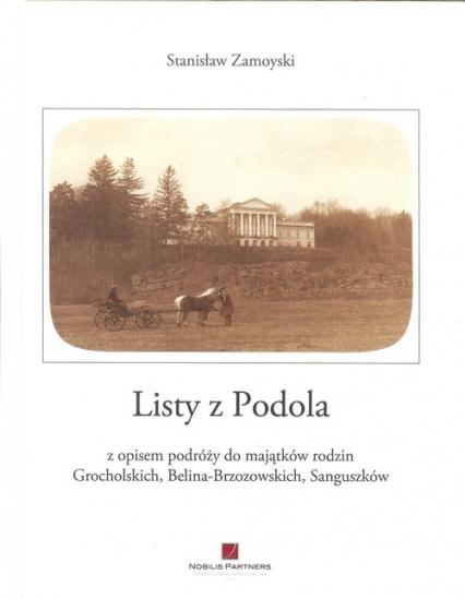 Listy z Podola - Stanisław Zamoyski | okładka