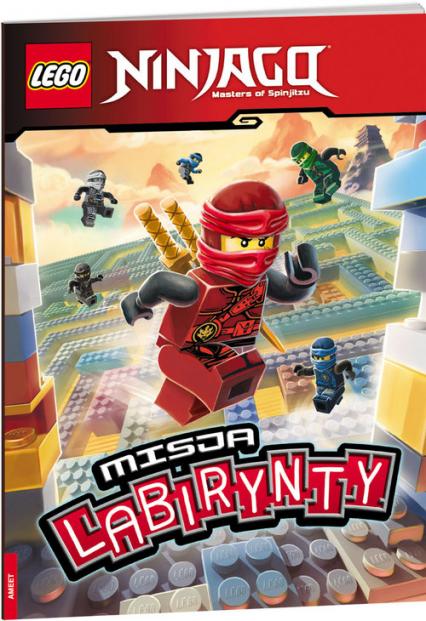 Lego Ninjago Misja labirynty LMA-701 -  | okładka