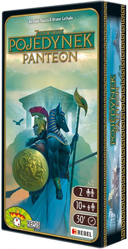 7 Cudów Świata Pojedynek Panteon - Antoine Bauza, Bruno Cathala | okładka