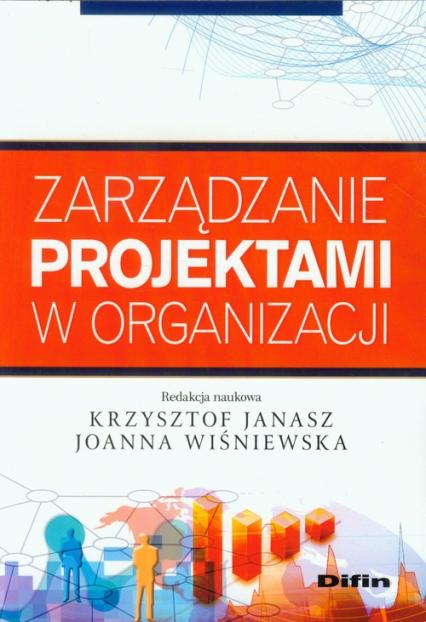 Zarządzanie projektami w organizacji -  | okładka