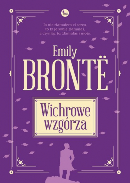 Wichrowe Wzgórza - Emily Brontë   okładka