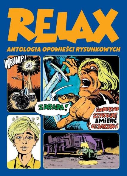 Relax  Antologia opowieści rysunkowych Tom 2 -  | okładka