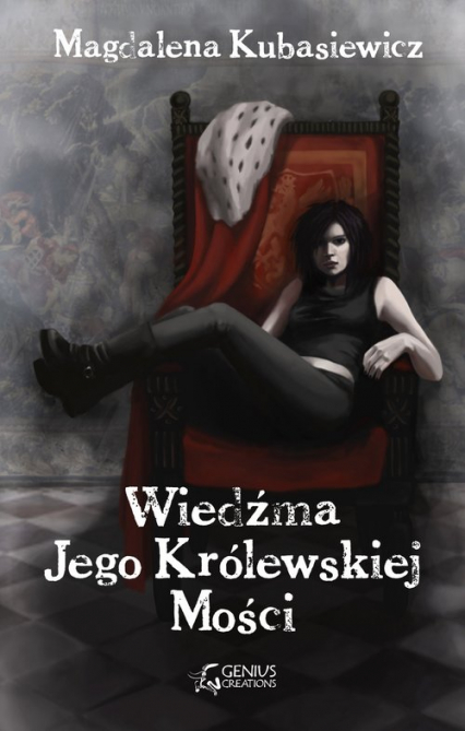 Wiedźma Jego Królewskiej Mości - Magdalena Kubasiewicz   okładka