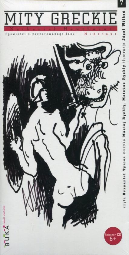 Mity greckie 7 Minotaur + CD - Nathaniel Hawthorne   okładka