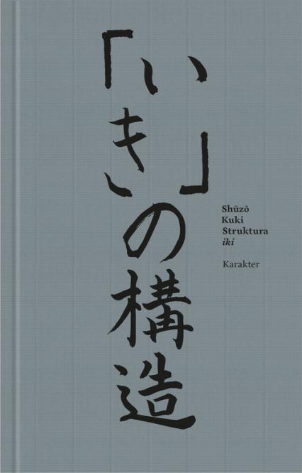 Struktura iki - Kuki Shuzo | okładka