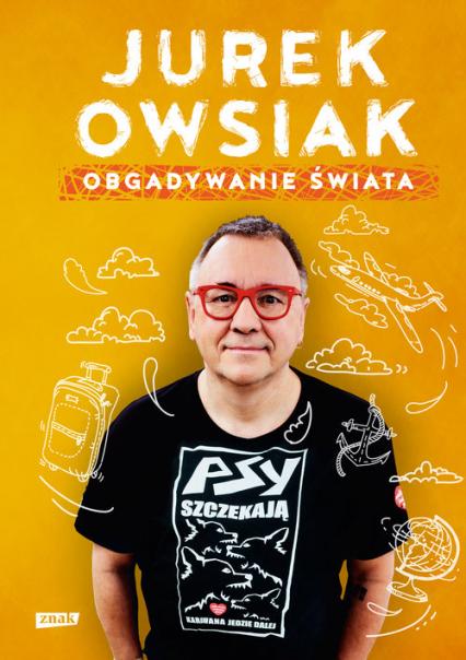 Obgadywanie świata - Jerzy Owsiak | okładka