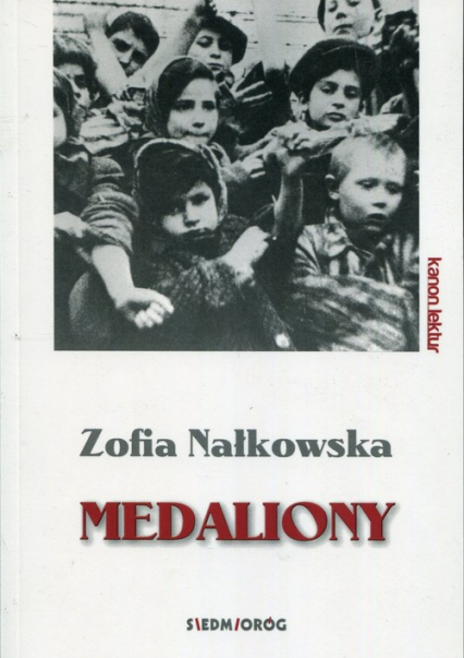 Medaliony - Zofia Nałkowska   okładka