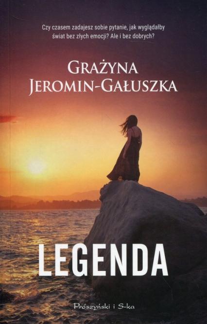 Legenda - Grażyna Jeromin-Gałuszka   okładka