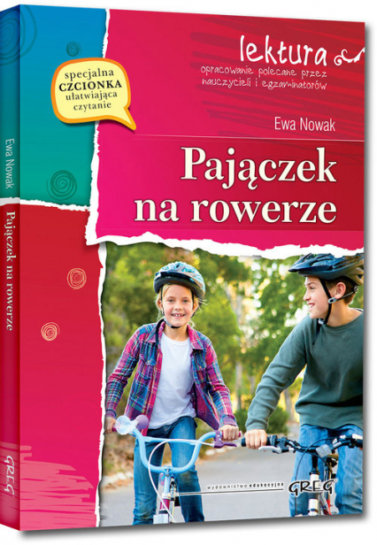 Pajączek na rowerze - Ewa Nowak   okładka