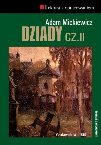 Dziady Część 2 - Adam Mickiewicz   okładka