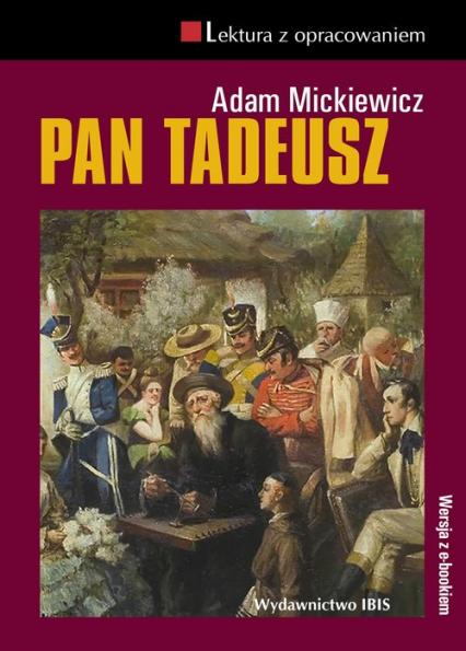 Pan Tadeusz - Adam Mickiewicz | okładka
