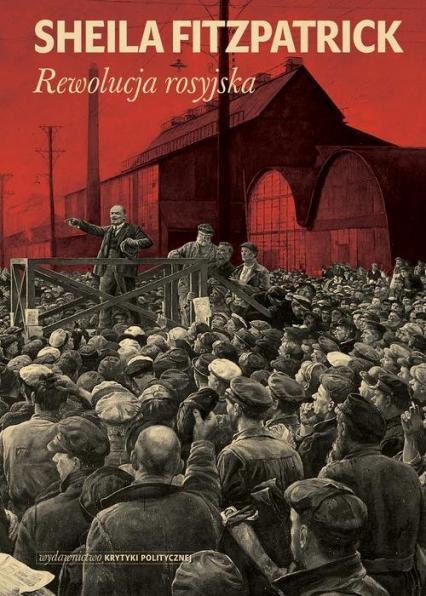 Rewolucja rosyjska - Sheila Fitzpatrick   okładka