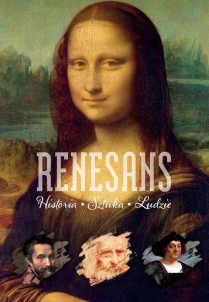 Renesans Historia Sztuka Ludzie - Lepacka Anna Maria | okładka