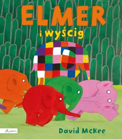 Elmer i wyścig - David McKee | okładka
