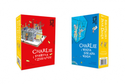 Biblioteczka pana Dahla Pakiet - Roald Dahl | okładka