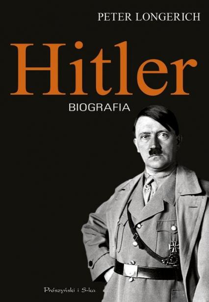 Hitler Biografia - Peter Longerich | okładka