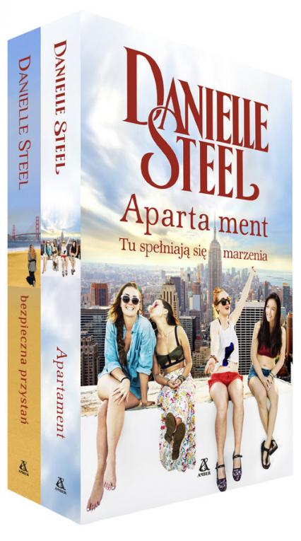 Apartament / Bezpieczna przystań Pakiet - Danielle Steel | okładka