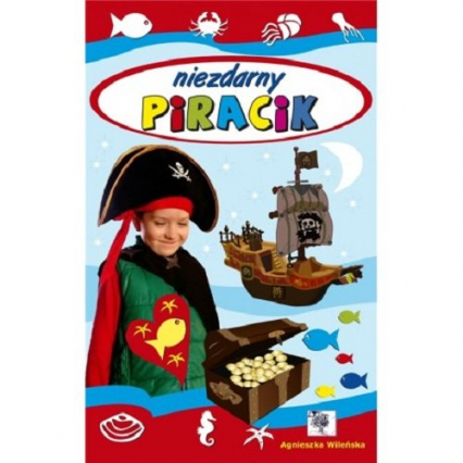 Niezdarny piracik -  | okładka